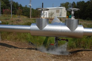 Wireless sensors can help save money over the 12 miles of steam lines at Oak Ridge National Laboratory.