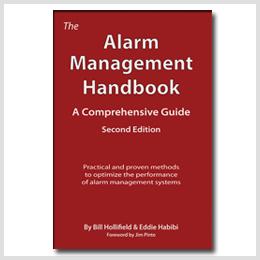 The Alarm Management Handbook written by Bill Hollifield and Eddie Habibi.