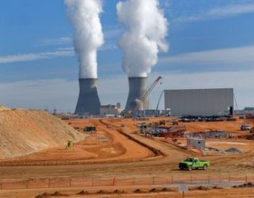 Excavation is now taking place for Vogtle 3 and 4 going up in Georgia next to the two existing reactors.