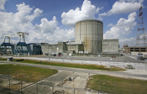 The Waterford 3 nuclear power plant in Taft, LA.