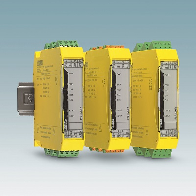 The PSR-MXF multifunctional safety relay.