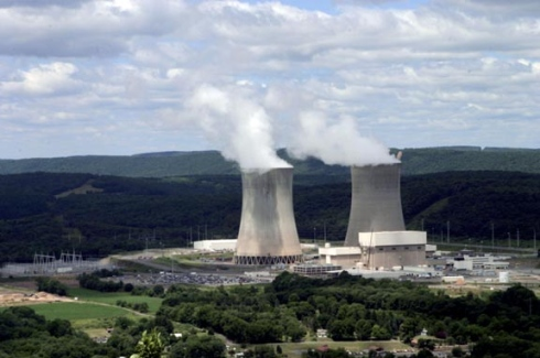 Unit 2 reactor at Susquehanna nuclear power plant is now back up and running.