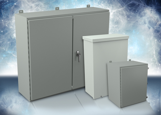AutomationDirect  expanded its line of Hubbell Wiegmann enclosures with additional NEMA 3R and NEMA 12 models.