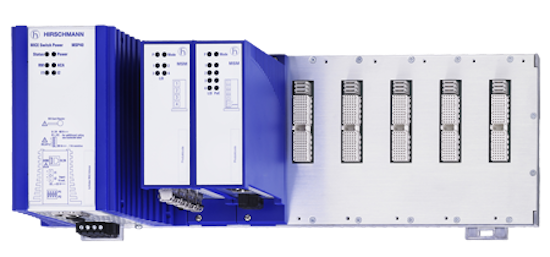 Belden launched its MSP40 Full Gigabit Ethernet Layer 3 switch.