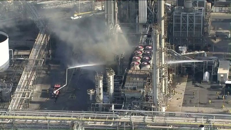Fire Out at Phillips 66 CA Refinery
